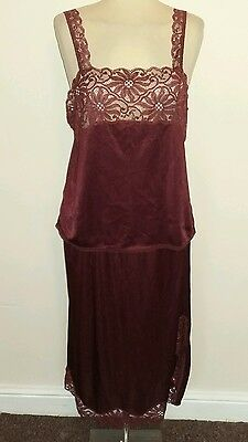 Annabel charnos slip and cami size 16