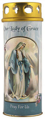 VIRGIN MARY OUR LADY DEVOTIONAL HOLY CANDLE 100's OF STATUES AND PICTURES LISTED