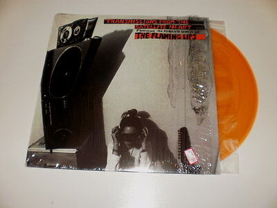 THE FLAMING LIPS - Transmissions From The Satellite Heart - LP 1992 TRASPARENT