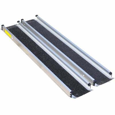 Aidapt 7ft Telescopic Channel Ramps LightWeight For Scooter Wheelchair Inc Case