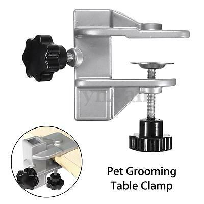 Metal Iron Dog Pet Cat Animal Grooming Table Arm H Bar Clamp Clip Aid Accessory