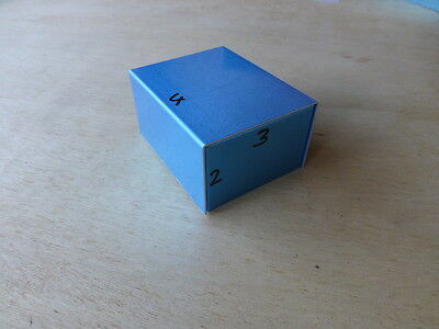 HAM RADIO RECEIVER VINTAGE STYLE ALUMINIUM PROJECT BOX  4x3x2 inch NEW