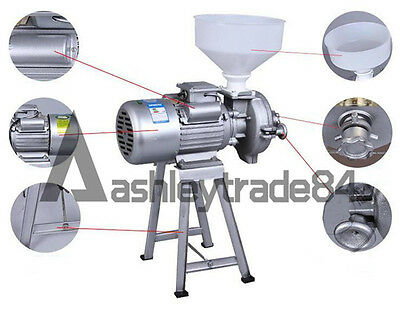 Grains Feed Dry Grinding machine Small Electric Herbal Grinder Commercial 220V