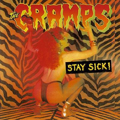 THE CRAMPS Stay Sick! UK 15-track vinyl LP SEALED / NEW Meteors Gun Club