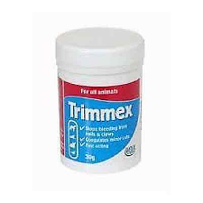 Hatchwells Trimmex Stops Bleeding from claws nails dog cat rabbits 30G 00511