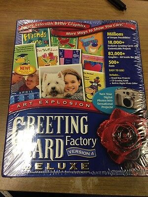 Greeting Card Factory Deluxe Software Version 4
