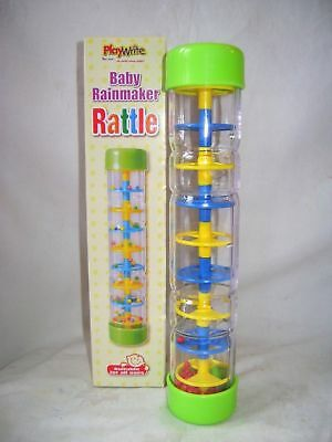 New Rainmaker Rattle Baby Toddler Activity Toy Fun Noisy Rain Maker Pw 385-119