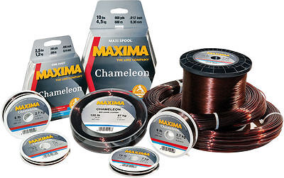 Maxima Chameleon Fishing Line 600m 660yd 2lb - 4lb - CLOSING DOWN CLEARANCE!!