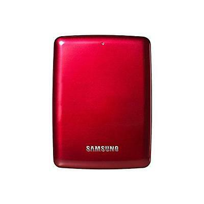"NEW! Samsung S3 500Gb Usb 3.0 Red 2.5"" Portable External Hard Drive"