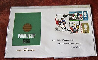 GB World Cup  1966 FDC