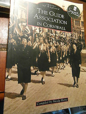 B book The Guide Association in Cornwall kernow local history