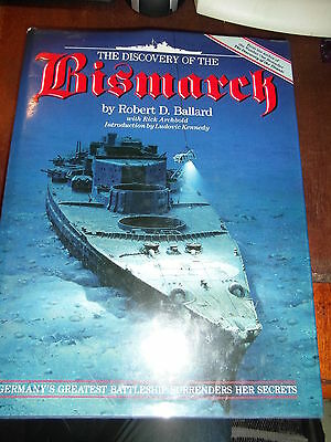 B book discovery of the bismark war maritime naval