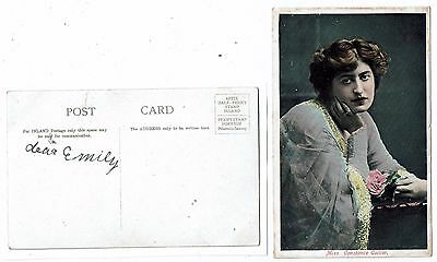 Post Card Miss Constance Collier.