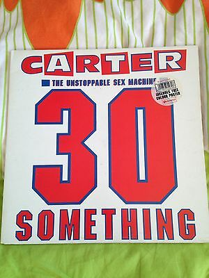 Carter USM The Unstoppable Sex Machine 30 Something Vinyl Album Good Condition