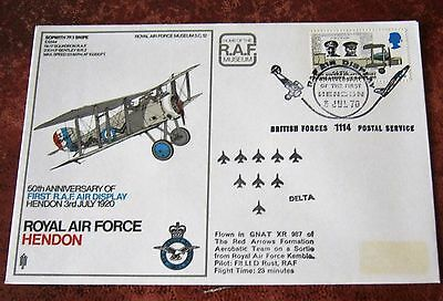 GB Flown Cover 1970