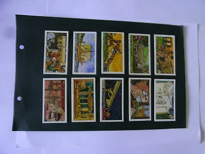 Full Set x 50 Tea Cards Brooke Bond. Inventors @ Inventions.   1975.