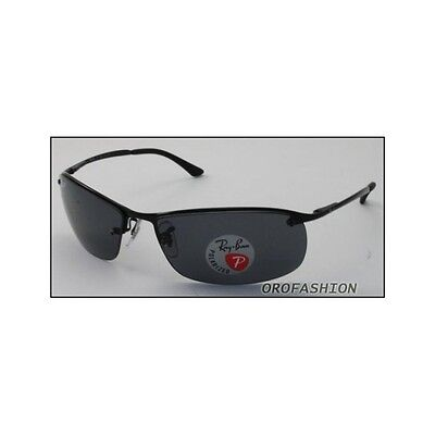 Occhiali da sole Ray Ban TOP BAR - RB3183 002/81 63 POLARIZED