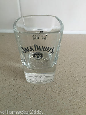 1 Jack Daniel's  Whiskey Square Shot Glass  Brand New  From 2011