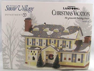 Dept 56 National Lampoon's Christmas Vacation Griswold Holiday House #4030733
