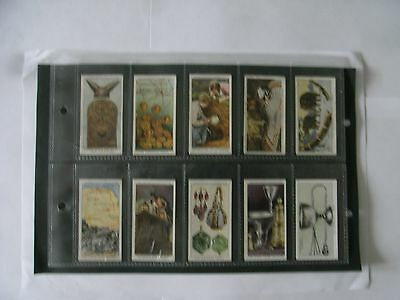 Full Set x 50 Churchman Cards + Sleeves. Treasure Trove. 1937.