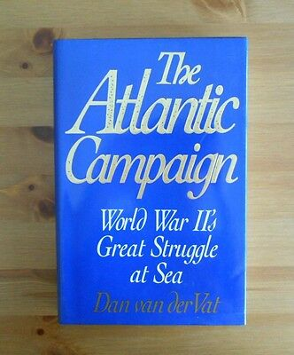 classic WW2 ATLANTIC NAVAL CAMPAIGN BOOK 424 PAGES