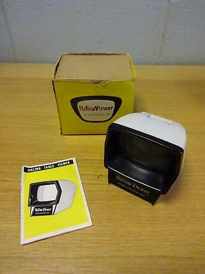 Halina Slide Viewer  (small) for photographic slides boxed No. 531