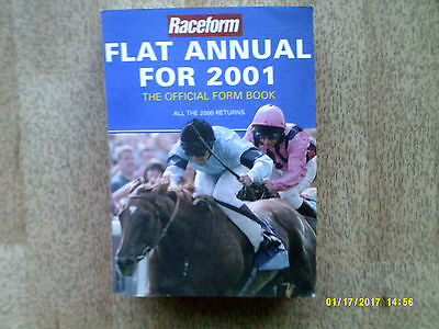 Raceform Flat Annual 2001
