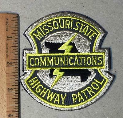 Vintage Missouri State Highway Patrol Communications Sew on Cloth Patch TY 1