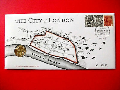 Royal Mint City of London £1.00 First Day Coin Cover 2010