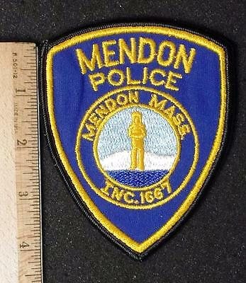 Obsolete Mendon Police Sew on Felt Patch