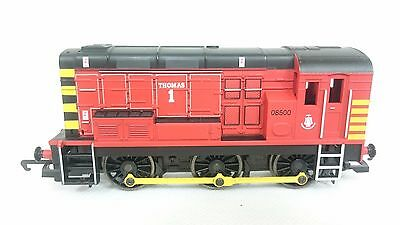 "Hornby Class 08 0-6-0 Shunter ""Thomas 1"" 08500 With Wasp Stripes OO Gauge"
