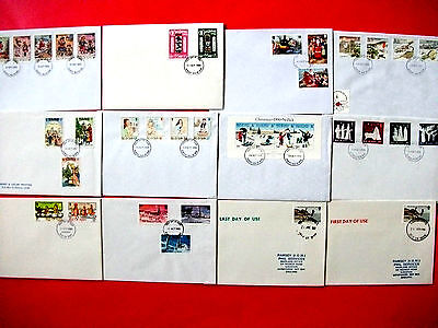 Pack Isle of Man First Day Covers 1983