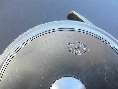 vintage malloch of perth fly fishing reel.