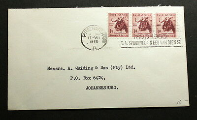 South-Africa 1960 cover   F-102
