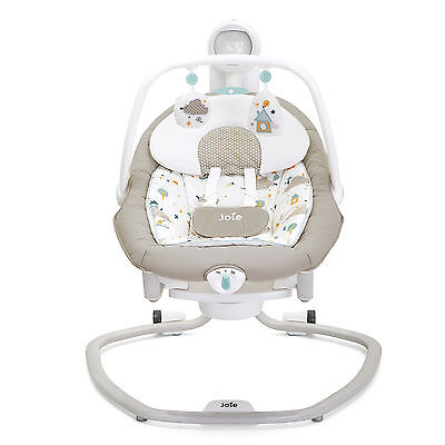 JOIE LITTLE WORLD SERINA 2in1 BABY SWING / ROCKER WITH MUSIC & VIBRATIONS