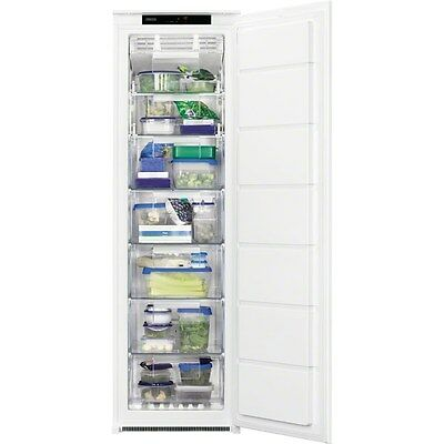 Zanussi ZBF22451SA Built In A+ Rated Frost Free Tall Freezer