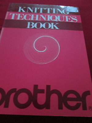 Brother Knitting Techniques Book