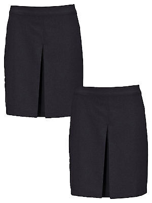 Top Class Pack Of Two Girls Kick Pleat Skirt in Black Size 15-16 Years
