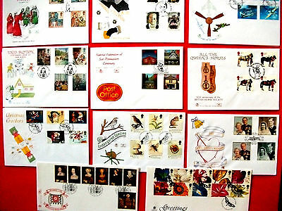11 Stuart  First Day Covers 1997