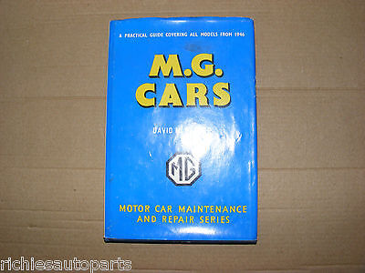 M.g. Cars Hardback Book A Practical Guide Covering All Models From 1946