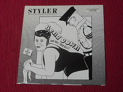 "Styler: Bend down and roll your belly   7""  NM Ex shop stock"