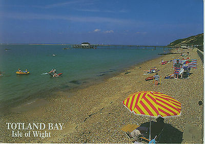 Vintage Postcard, Totland Bay, Isle of Wight, Posted 1990's