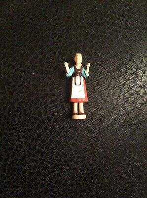 Polly Pocket Figure for Cinderella's Castle. Cinders in Rags