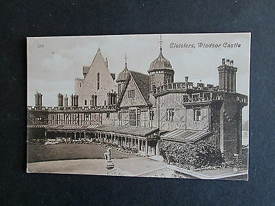 The Cloisters, Windsor Castle, Berkshire - Postally Used 1911