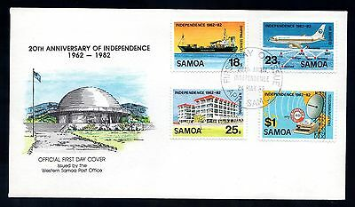 Samoa 1982 FDC 20th Anniversary of Independence
