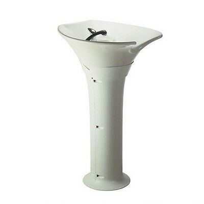 Comair Wash column Sea white (Ceramic basin)