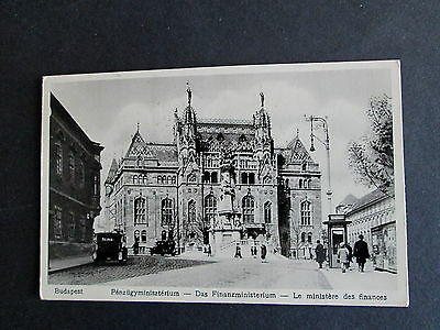 Budapest, Hungary - A Real Photographic Card Postally Used 1932