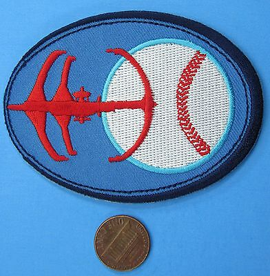 PATCH vtg Star Trek - Deep Space Nine - BASEBALL - Take Me Out To The HOLOSUITE