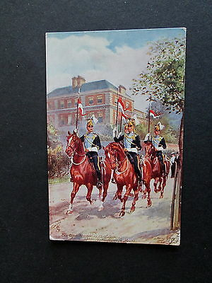 The Despatch Orderlies, 21St. Lancers - Postally Used 1907