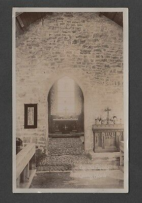 Wales - The Old Priory Caldey Island Real Photo Postcard